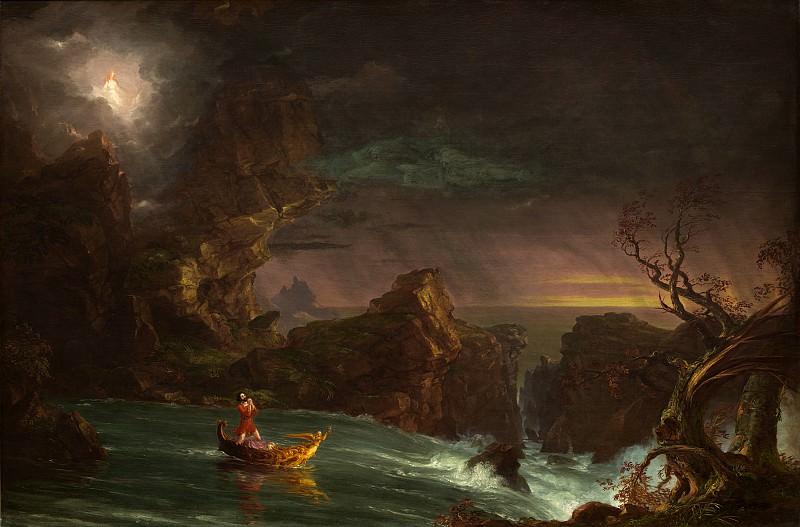 Thomas Cole - The Voyage of Life: Manhood. National Gallery of Art (Washington)