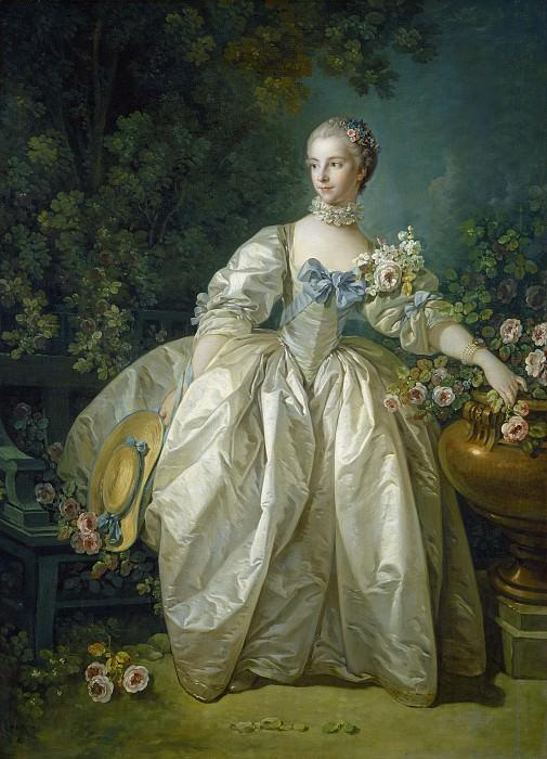 Francois Boucher - Madame Bergeret. National Gallery of Art (Washington)