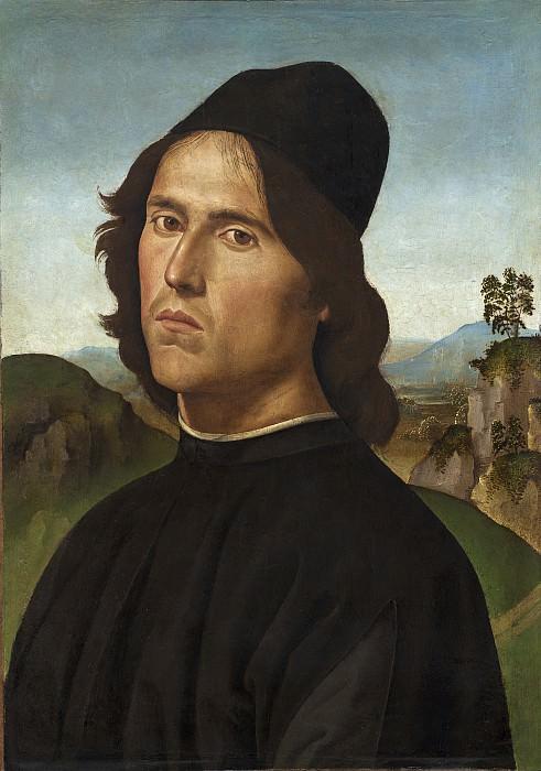 Перуджино, Пьетро - Портрет Лоренцо ди Креди. Национальная галерея искусств (Вашингтон)