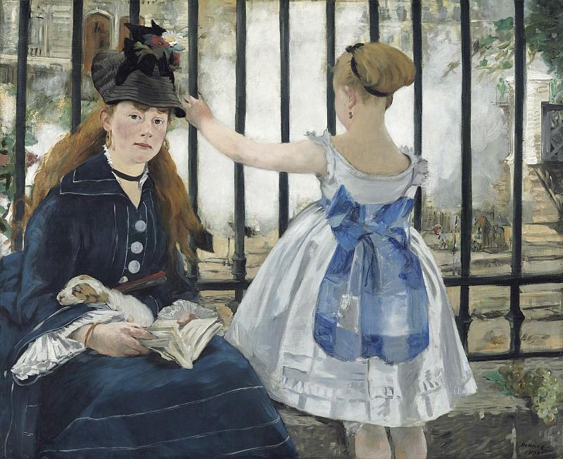 The Railway. Édouard Manet