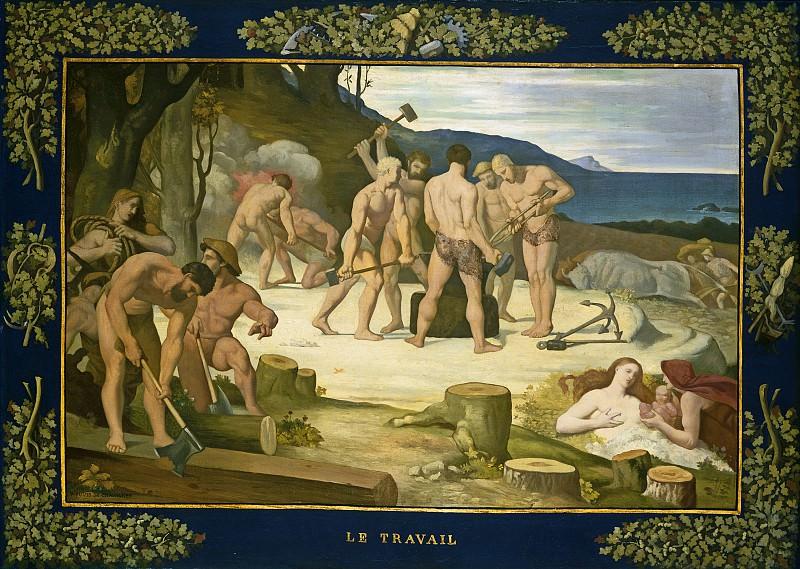 Pierre Puvis de Chavannes - Work. National Gallery of Art (Washington)