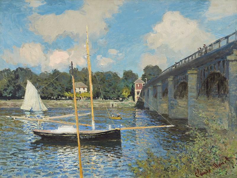 Claude Monet - The Bridge at Argenteuil. National Gallery of Art (Washington)
