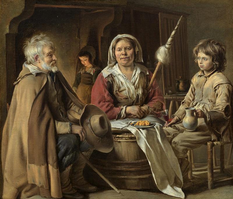 Louis Le Nain - Peasant Interior. National Gallery of Art (Washington)