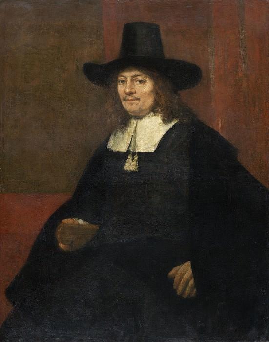 Portrait of a Man in a Tall Hat. Rembrandt Harmenszoon Van Rijn