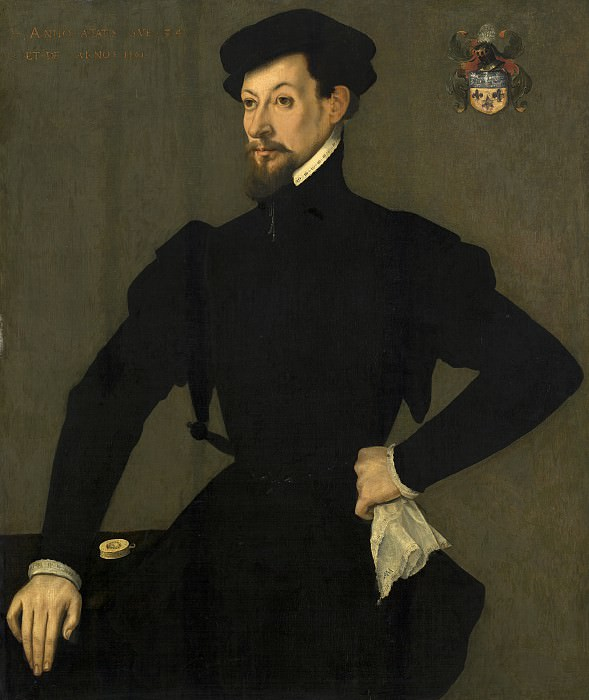 French 16th Century - Portrait of a Member of the Quaratesi Family. National Gallery of Art (Washington)