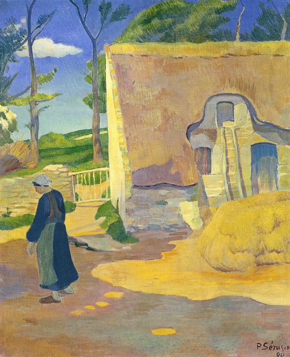 Paul Serusier - Farmhouse at Le Pouldu. National Gallery of Art (Washington)
