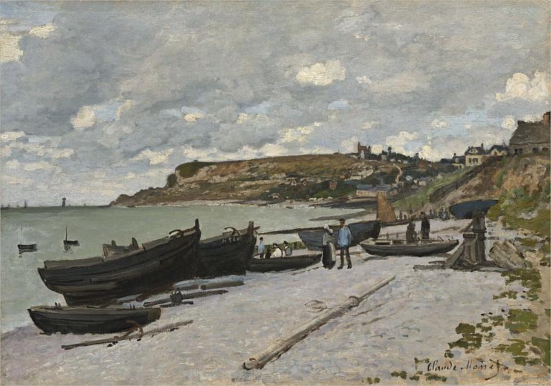 Claude Monet - Sainte-Adresse. National Gallery of Art (Washington)