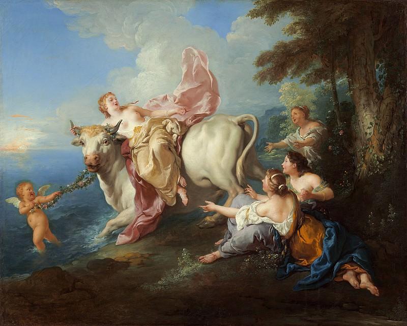 Труа, Жан-Франсуа де - Похищение Европы. Национальная галерея искусств (Вашингтон)