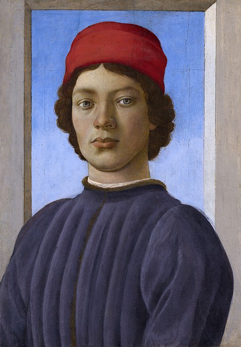 Filippino Lippi - Portrait of a Youth. National Gallery of Art (Washington)