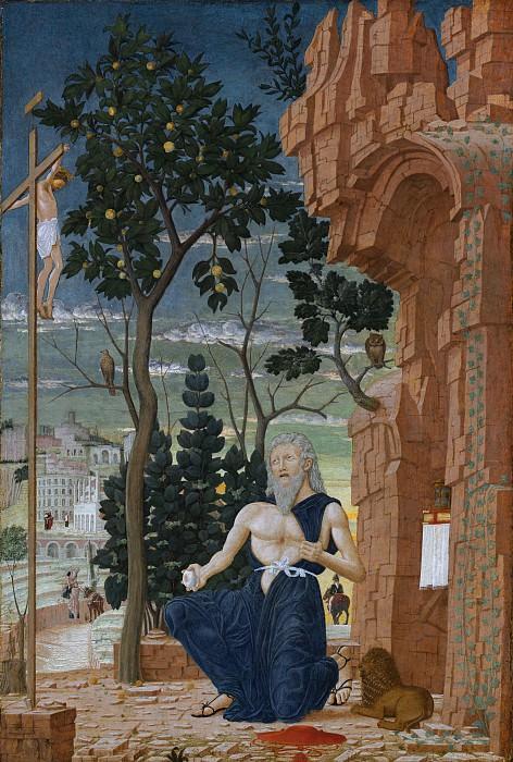 Follower of Andrea Mantegna - Saint Jerome. National Gallery of Art (Washington)