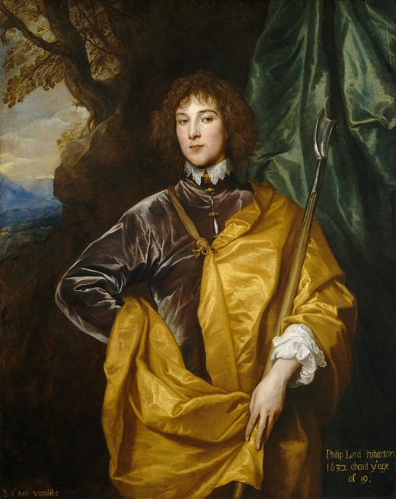 Sir Anthony van Dyck - Philip, Lord Wharton. National Gallery of Art (Washington)