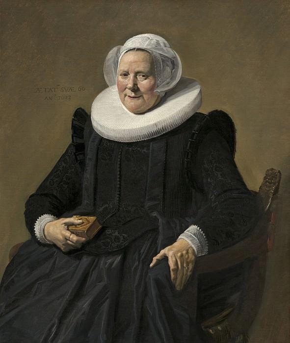 Frans Hals - Portrait of an Elderly Lady. National Gallery of Art (Washington)