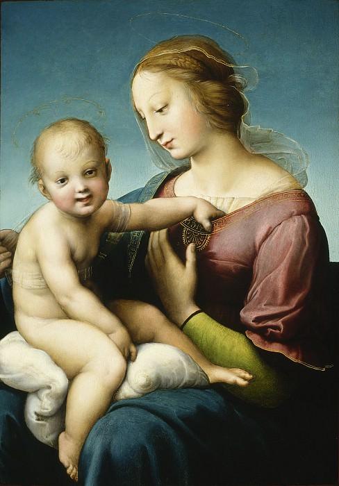 The Niccolini-Cowper Madonna. Raffaello Sanzio da Urbino) Raphael (Raffaello Santi