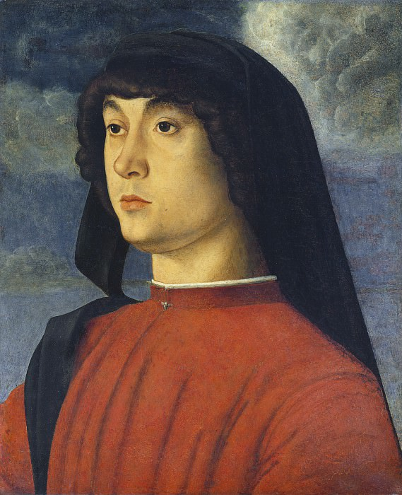 Portrait of a Young Man in Red. Giovanni Bellini
