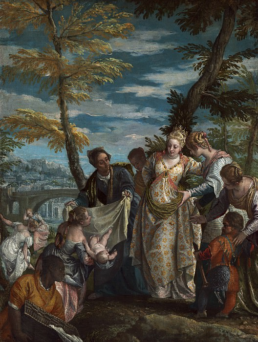 Veronese - The Finding of Moses. National Gallery of Art (Washington)