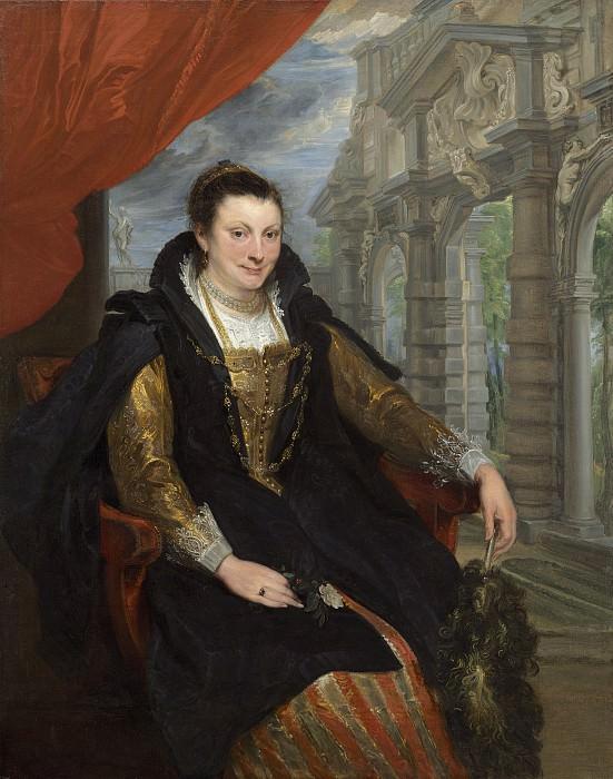 Sir Anthony van Dyck - Isabella Brant. National Gallery of Art (Washington)