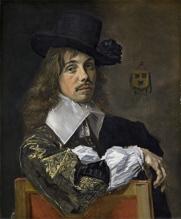 Frans Hals - Willem Coymans. National Gallery of Art (Washington)