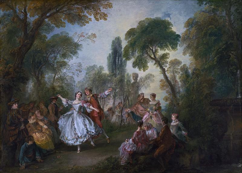 Ланкре, Никола - Танец Камарго. Национальная галерея искусств (Вашингтон)