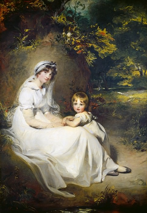 Sir Thomas Lawrence - Lady Mary Templetown and Her Eldest Son. National Gallery of Art (Washington)