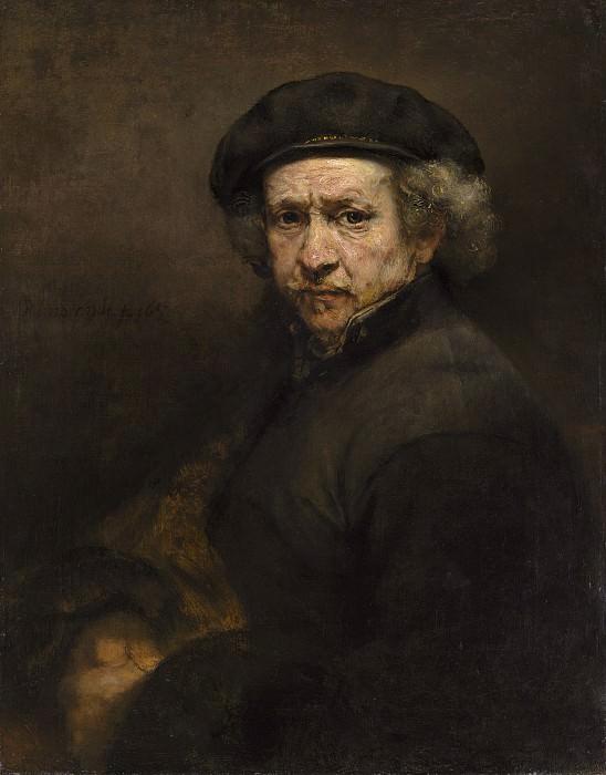 Автопортрет. Рембрандт Харменс ван Рейн