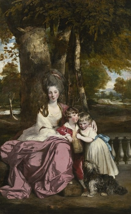 Sir Joshua Reynolds - Lady Elizabeth Delme and Her Children. National Gallery of Art (Washington)