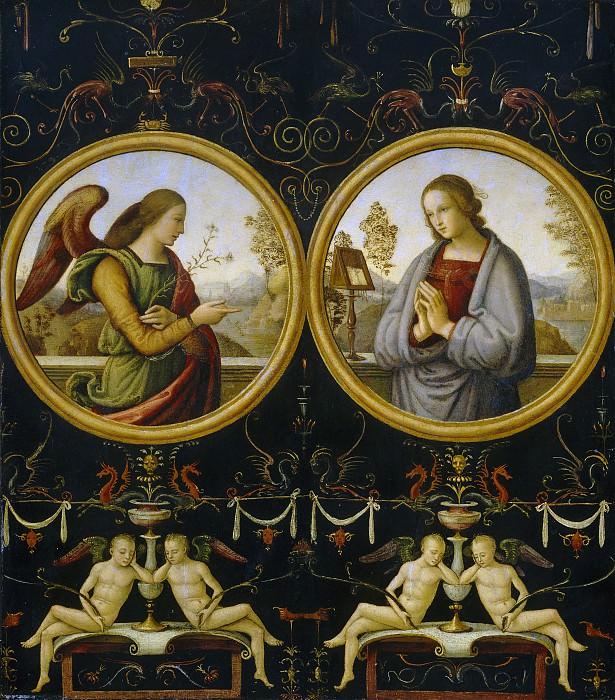 Джанникола ди Паоло - Благовещение. Национальная галерея искусств (Вашингтон)