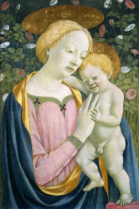 Венециано, Доменико - Мадонна с младенцем. Национальная галерея искусств (Вашингтон)