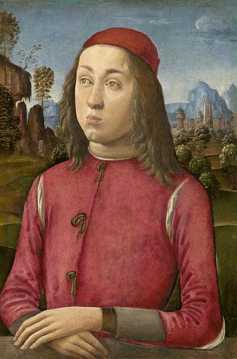 Agnolo di Domenico del Mazziere or Donnino di Domenico del Mazziere - Portrait of a Youth. National Gallery of Art (Washington)