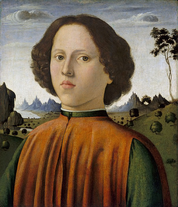 Biagio d'Antonio - Portrait of a Boy. National Gallery of Art (Washington)