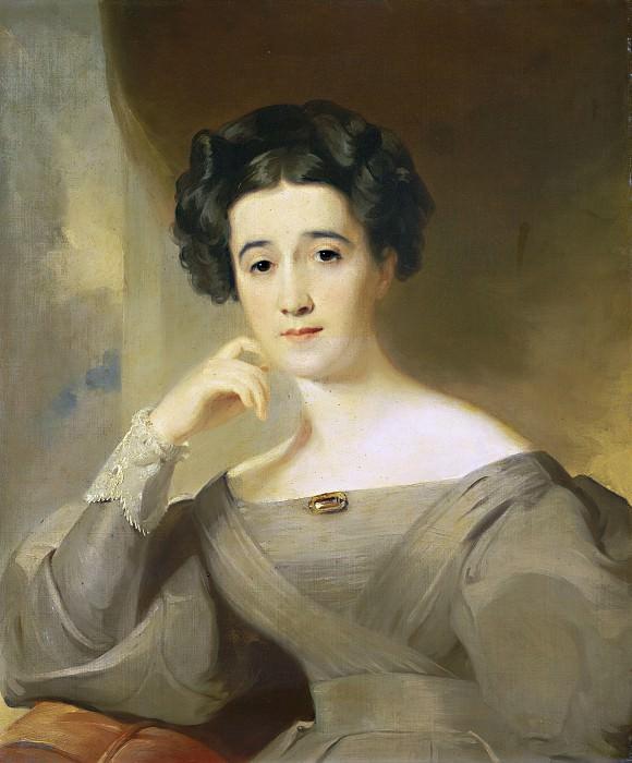 Thomas Sully - Mrs. William Griffin. National Gallery of Art (Washington)