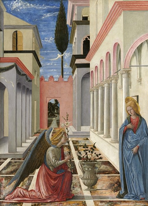 Fra Carnevale - The Annunciation. National Gallery of Art (Washington)
