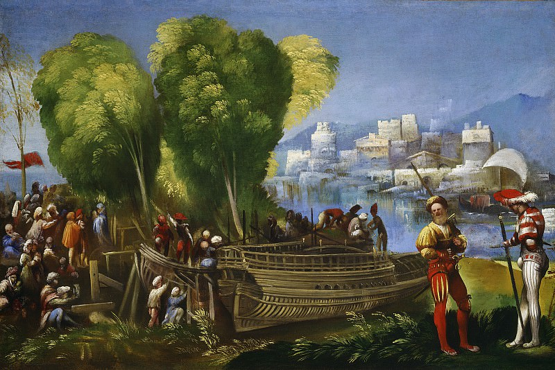 Dosso Dossi - Aeneas and Achates on the Libyan Coast. National Gallery of Art (Washington)