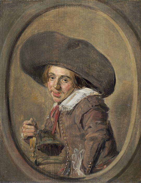 Frans Hals - A Young Man in a Large Hat. National Gallery of Art (Washington)