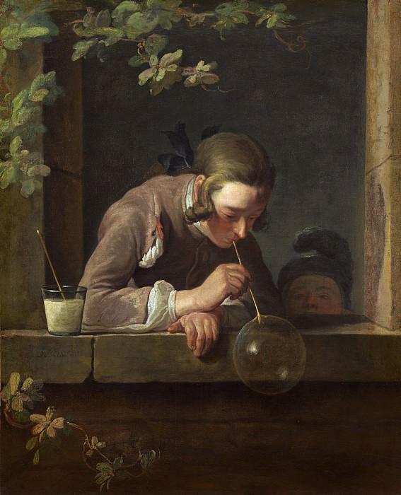 Soap Bubbles. Jean Baptiste Siméon Chardin