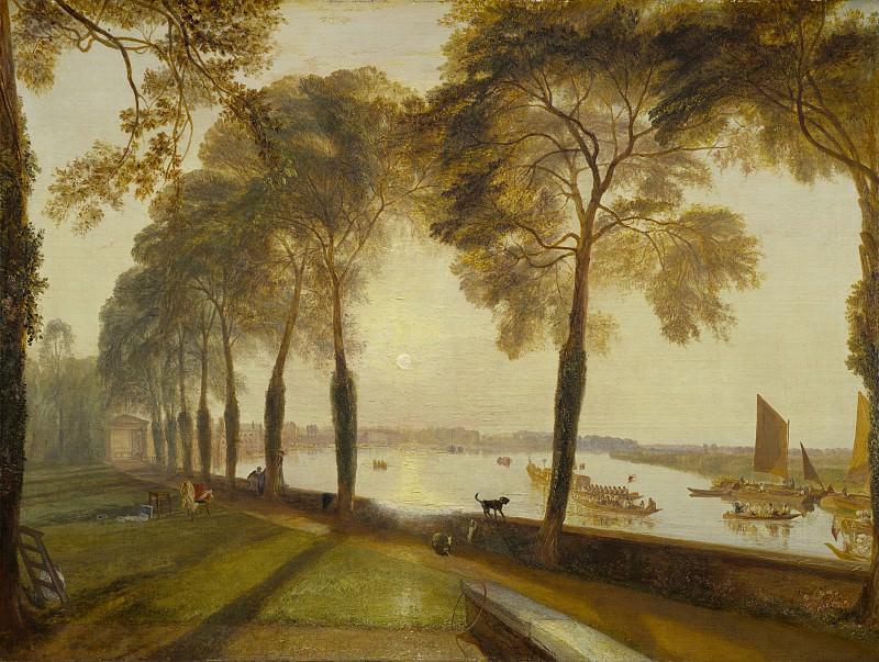 Joseph Mallord William Turner - Mortlake Terrace. National Gallery of Art (Washington)
