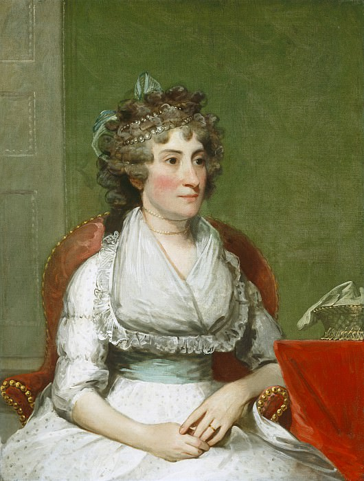 Gilbert Stuart - Catherine Yates Pollock (Mrs. George Pollock). National Gallery of Art (Washington)