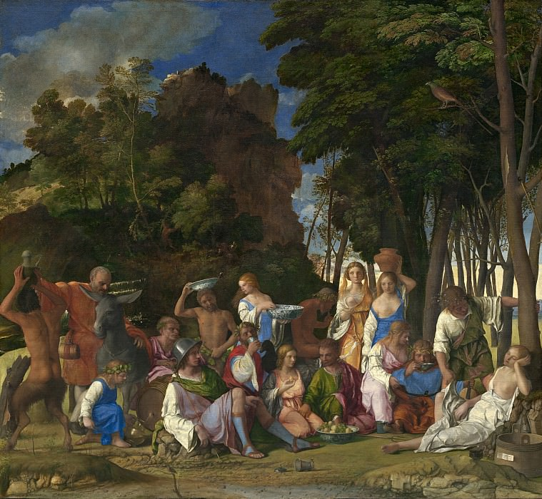The Feast of the Gods. Giovanni Bellini