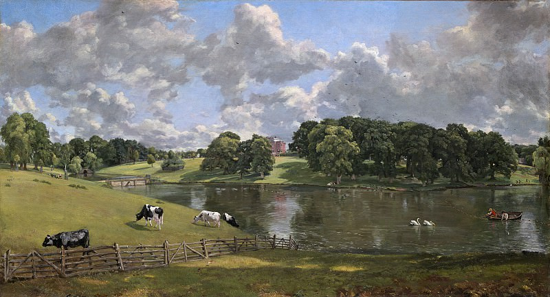 John Constable - Wivenhoe Park, Essex. National Gallery of Art (Washington)
