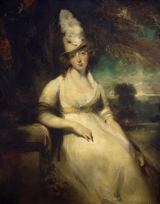 Sir Thomas Lawrence - Mrs. Robert Blencowe. National Gallery of Art (Washington)