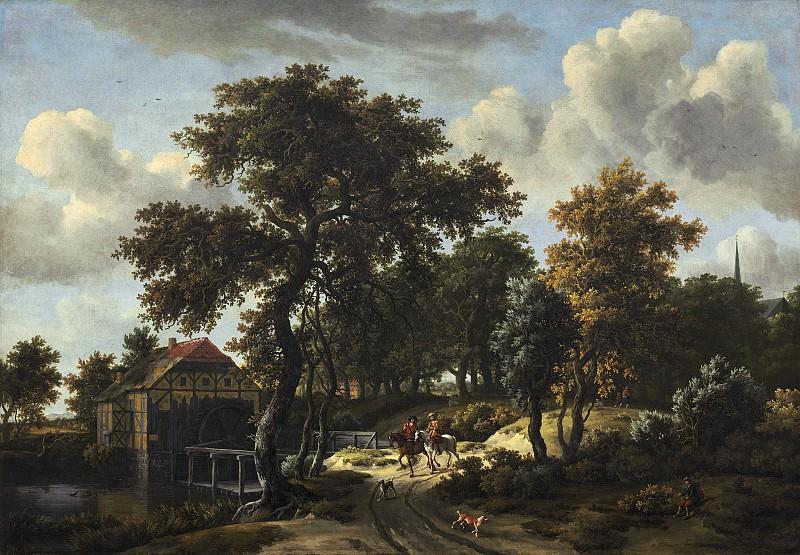 Хоббема, Мейндерт - Путешественники. Национальная галерея искусств (Вашингтон)