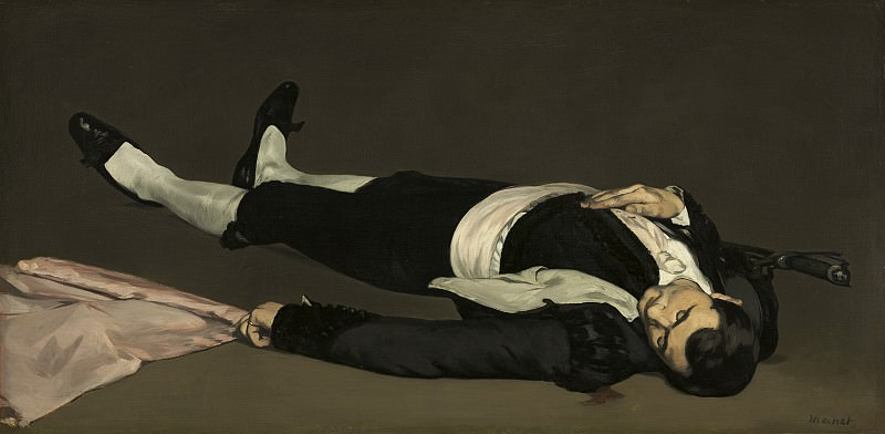 The Dead Toreador. Édouard Manet