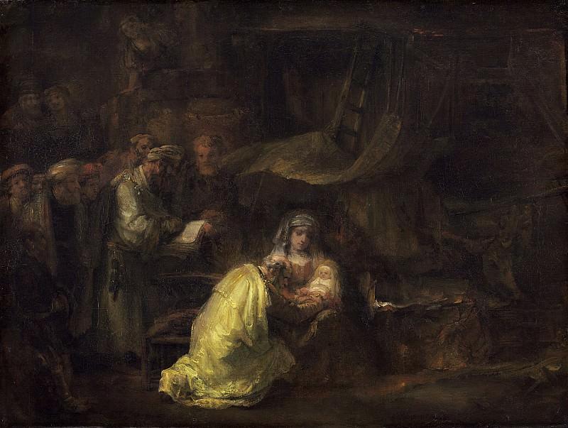 The Circumcision (attr). Rembrandt Harmenszoon Van Rijn