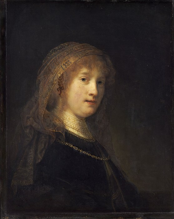 Rembrandt van Rijn - Saskia van Uylenburgh, the Wife of the Artist. National Gallery of Art (Washington)