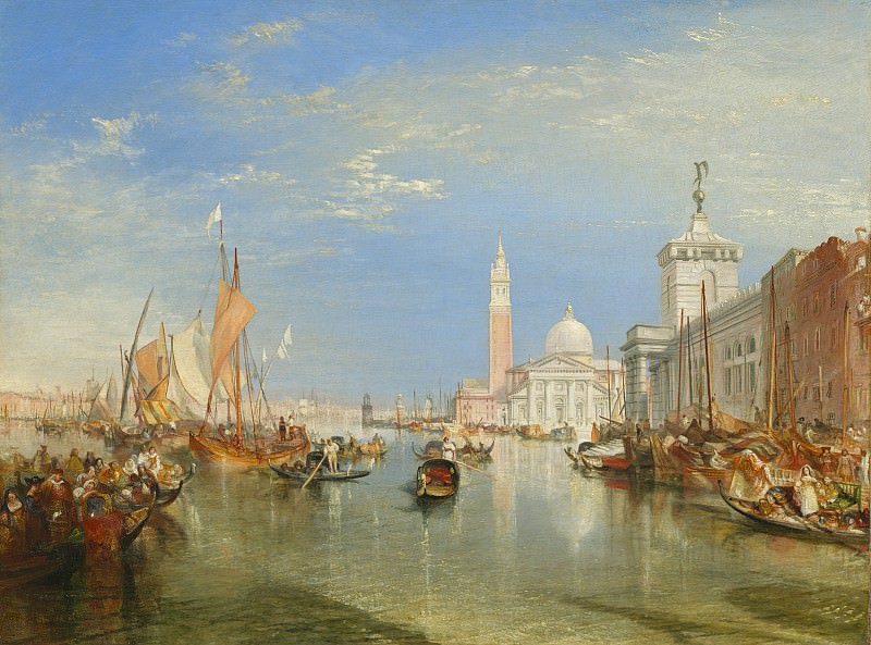 Joseph Mallord William Turner - Venice: The Dogana and San Giorgio Maggiore. National Gallery of Art (Washington)