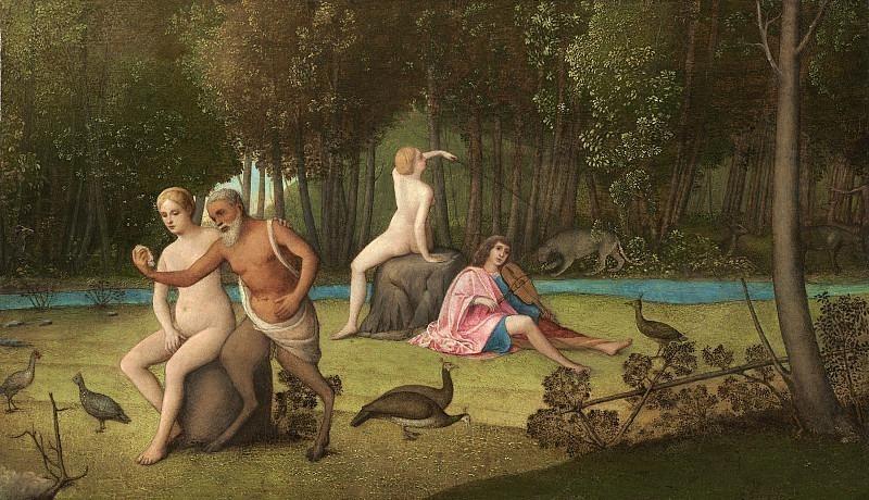 Венецианская школа, 16 век - Орфей. Национальная галерея искусств (Вашингтон)