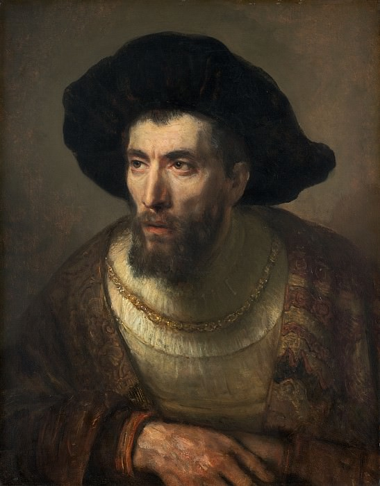 Rembrandt Workshop (Possibly Willem Drost) - The Philosopher. National Gallery of Art (Washington)