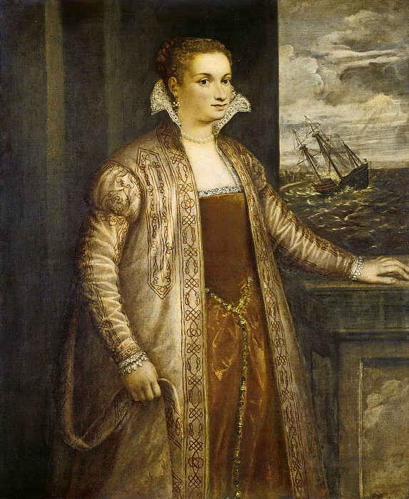 Follower of Titian - Emilia di Spilimbergo. National Gallery of Art (Washington)