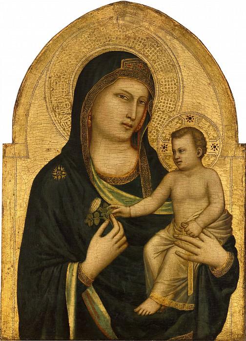 Джотто ди Бондоне - Мадонна с Младенцем. Национальная галерея искусств (Вашингтон)