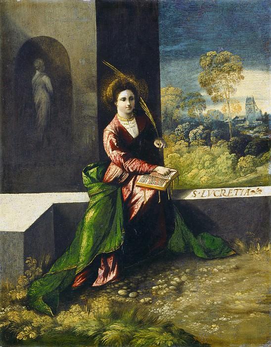 Dosso Dossi - Saint Lucretia. National Gallery of Art (Washington)