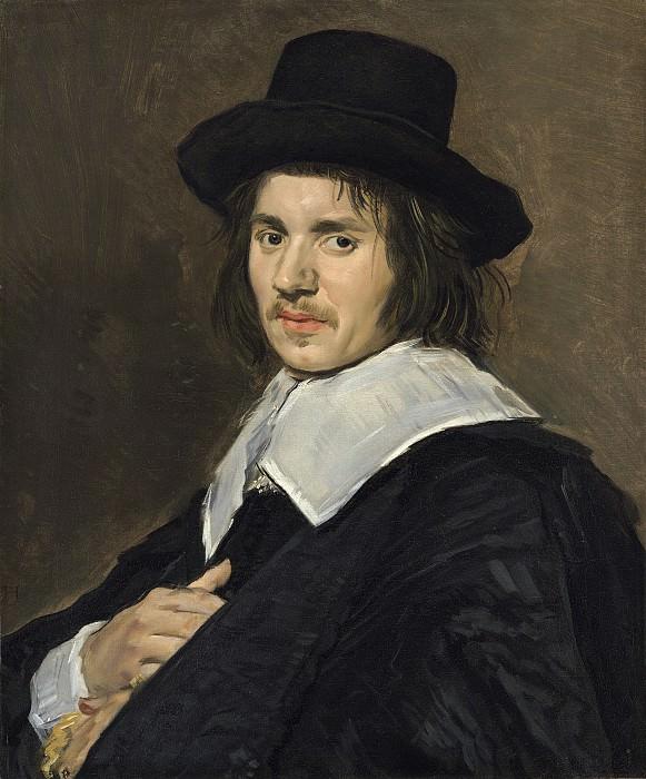 Frans Hals - Portrait of a Man. National Gallery of Art (Washington)